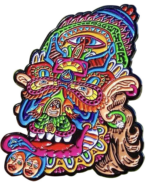 Feedback From Beyond Chris Dyer Pin