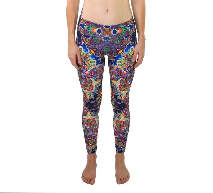 Optimystics Journey Pattern Active Leggings - Positive Creations