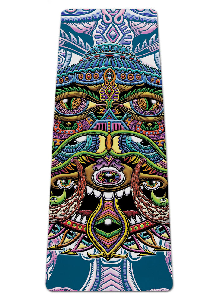 Alien Eye Yoga Mat - Positive Creations