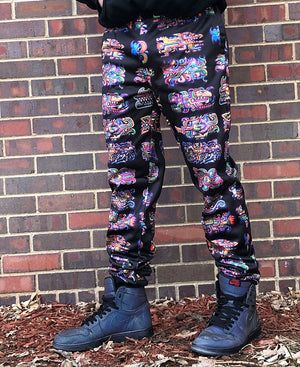 Fish bomb Black Joggers - Positive Creations