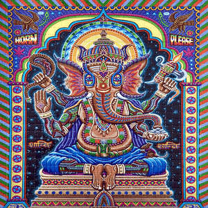 Ganesha Blotter Art - Positive Creations