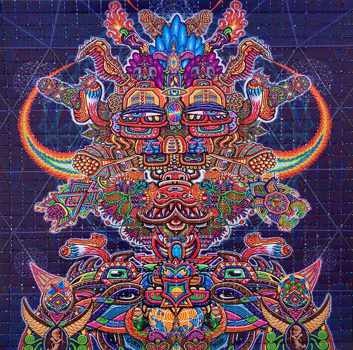 Interdimensional Rebel Blotter Art - Positive Creations