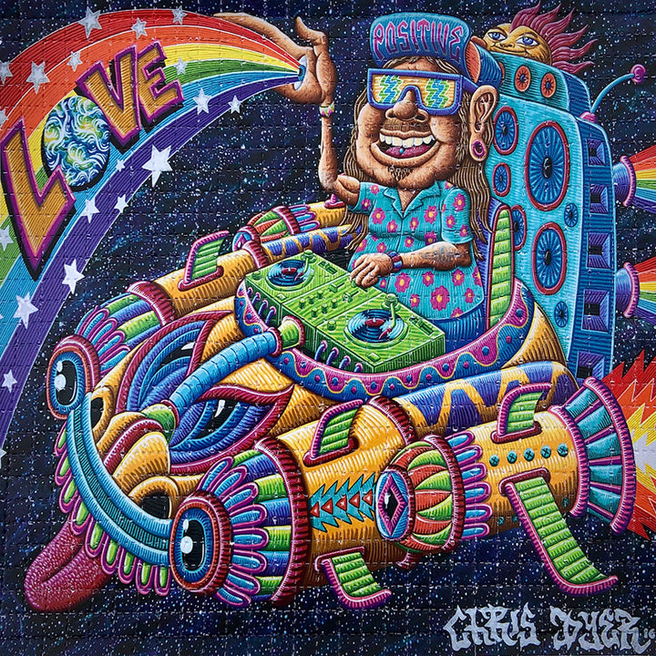 Space Selectah Blotter Art - Positive Creations