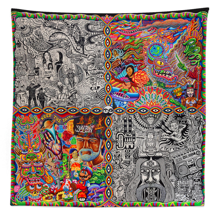 Chaos Culture Jam Tapestry - Positive Creations