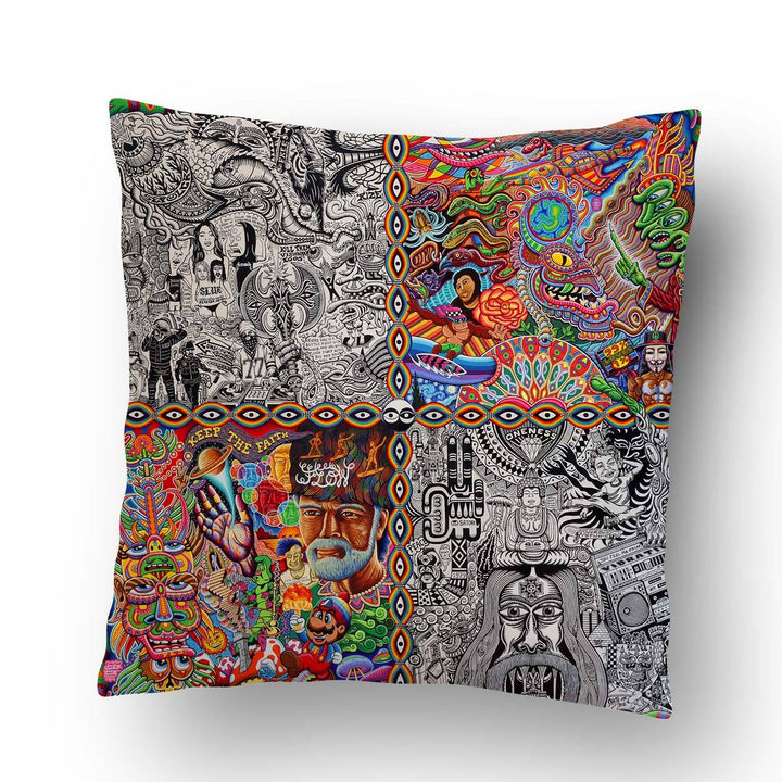 Chaos Culture Jam Pillow