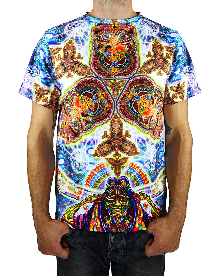 Healing Fractal Dimension T-Shirt - Positive Creations