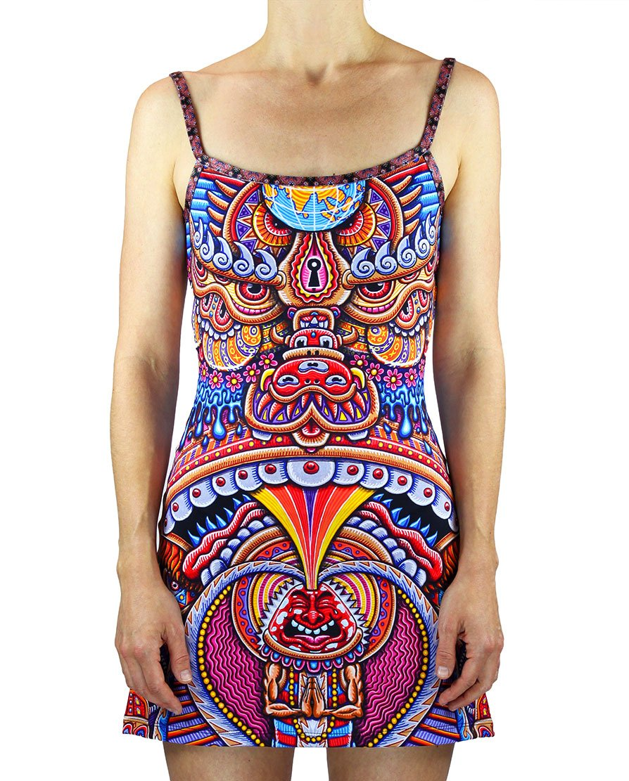 Kundalini Rising Mini Dress - Positive Creations