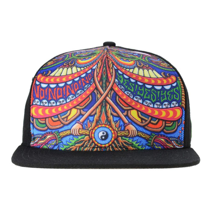 Chris Dyer V3 Yes No Shallow Snapback - Grassroots California - 1
