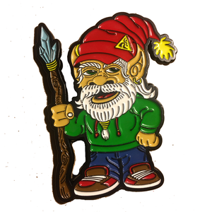 Dancesafe Gnome Pin