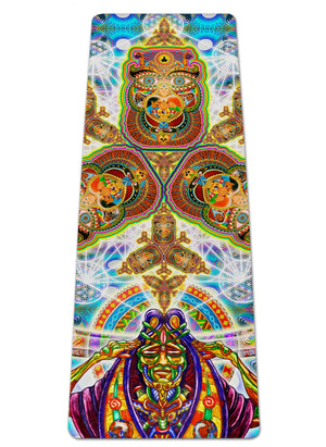 Healing Fractal Dimension Yoga Mat - Positive Creations