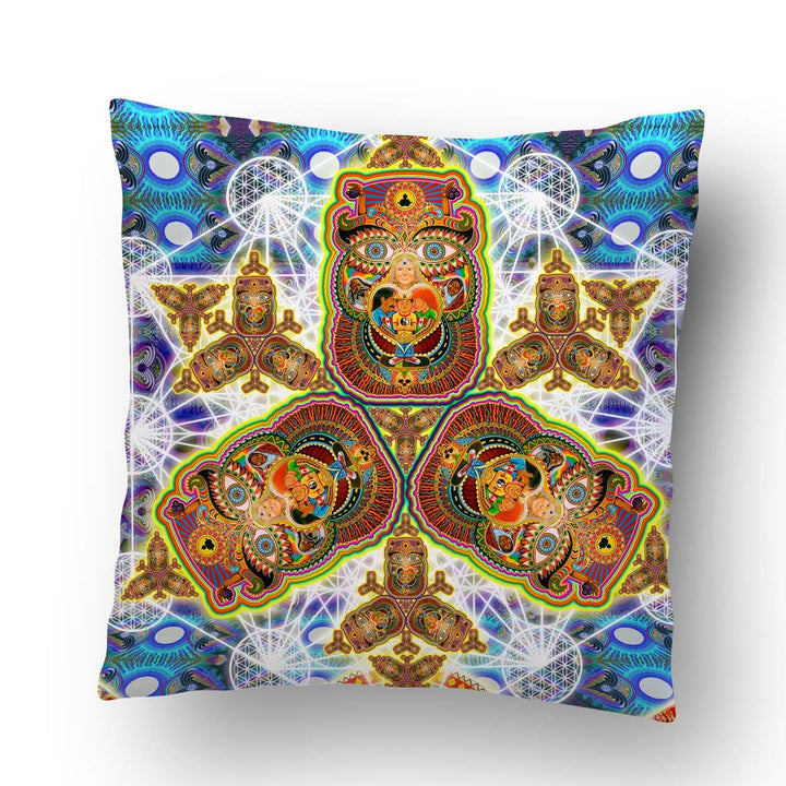 Healing Fractal Dimension Pillow - Positive Creations