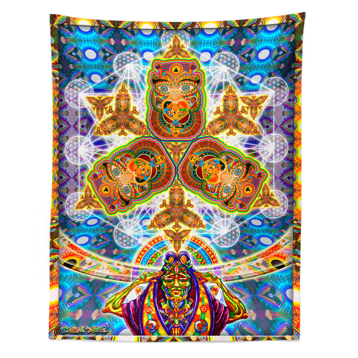 Healing Fractal Dimension Tapestry - Positive Creations
