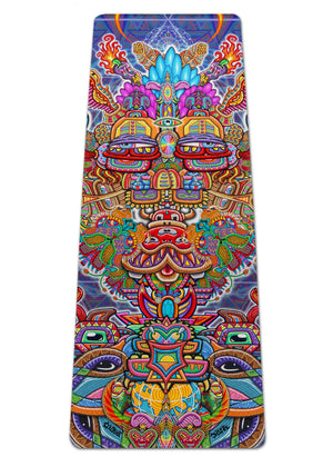 INTERDIMENSIONAL REBEL YOGA MAT - Positive Creations