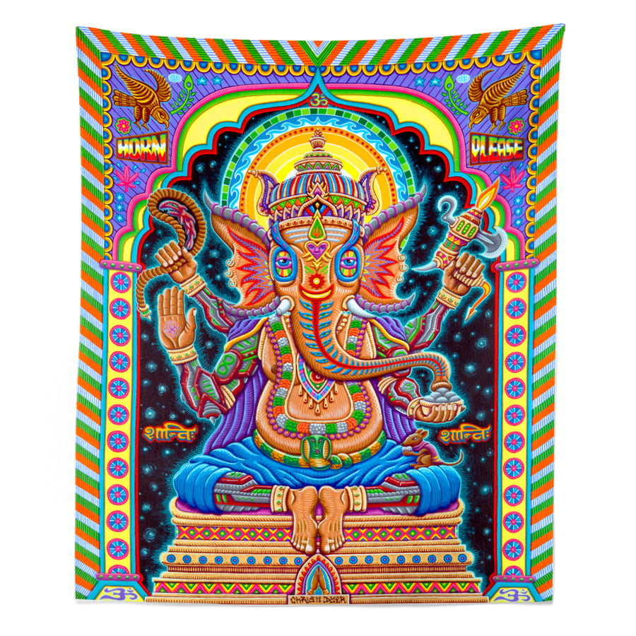 Jai Ganesha! Tapestry - Positive Creations