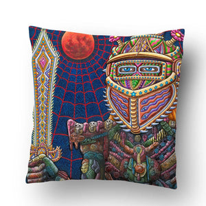 King Of Swords Pillow