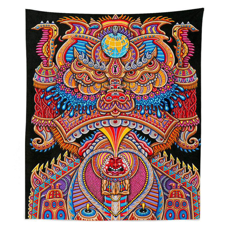 Kundalini Rising Tapestry - Positive Creations