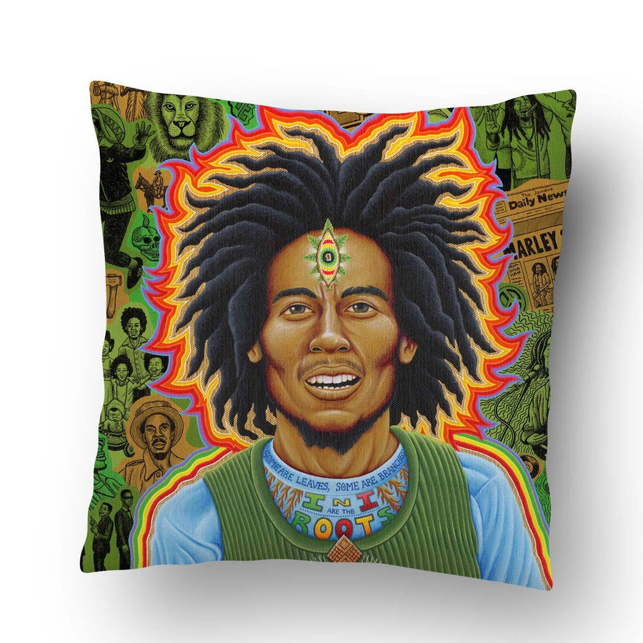 Marleys Roots Pillow - Positive Creations