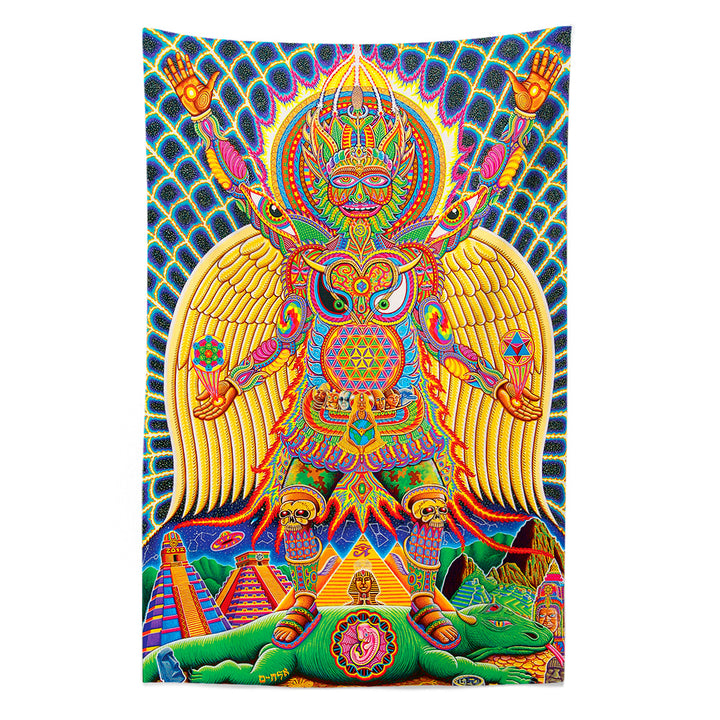 Neo Human Evolution Tapestry