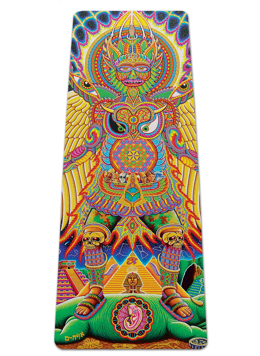 NEO HUMAN EVOLUTION YOGA MAT - Positive Creations