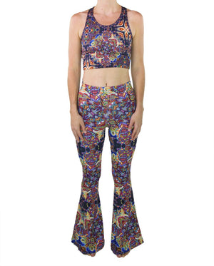 Optimystics Journey Pattern Bell Leggings