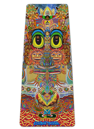 SAINT ART YOGA MAT - Positive Creations