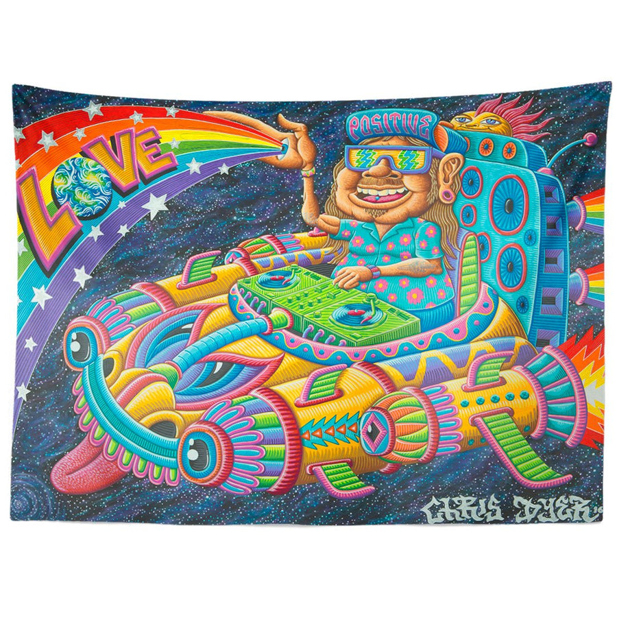 Space Selectah Tapestry - Positive Creations