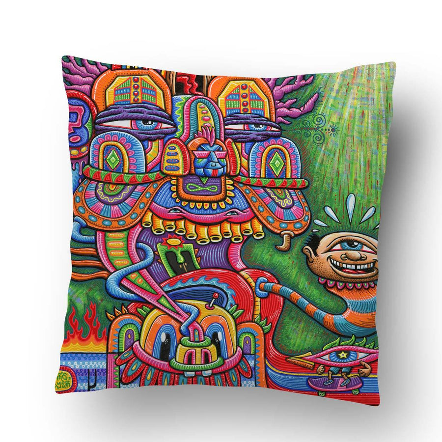 The Divine Comedian Pillow