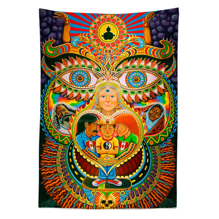 God of Healing Tapestry