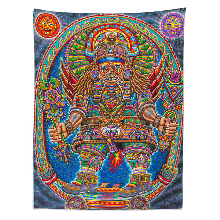 Ultimate Spirit Warrior Tapestry - Positive Creations