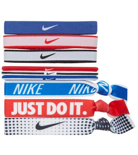 Nike Ponytail Holders 9 Pack
