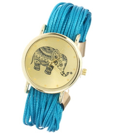 Lucky Elephant Wristwatch - Let All Your Wishes Come True