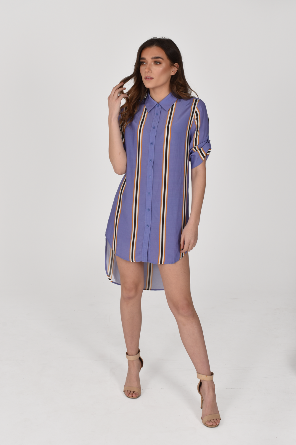 Frida Short Front Long Back Shirt