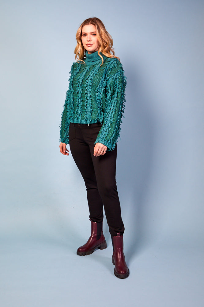 Isabella Green Jumper