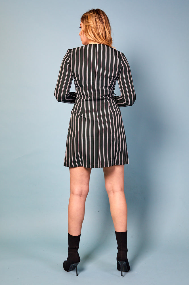 Antonella Striped Dress