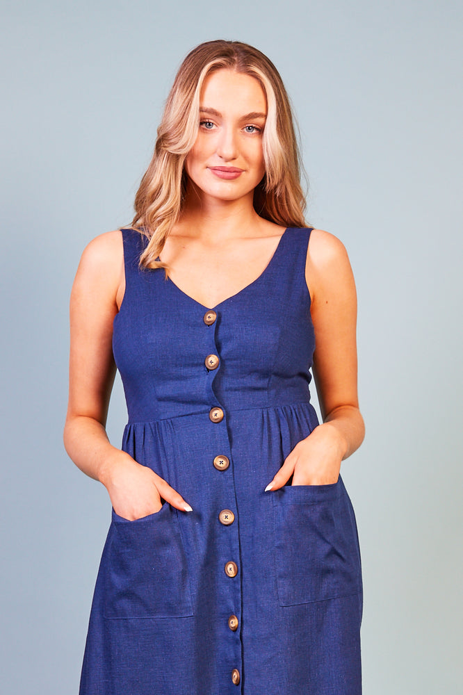 Jacobella Button Dress