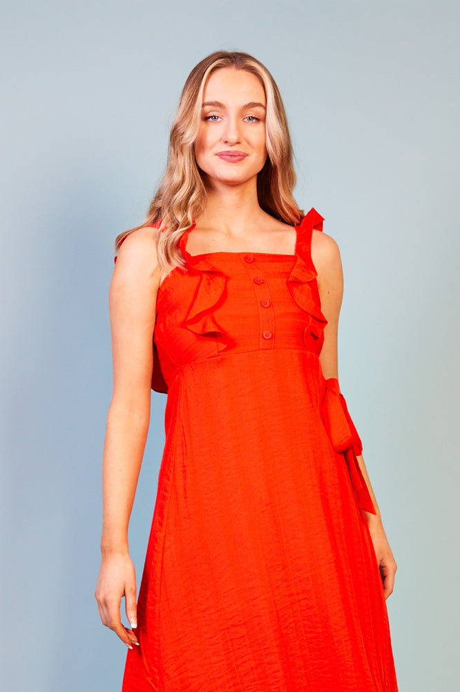 Lucrezia Ruffle Detail Dress