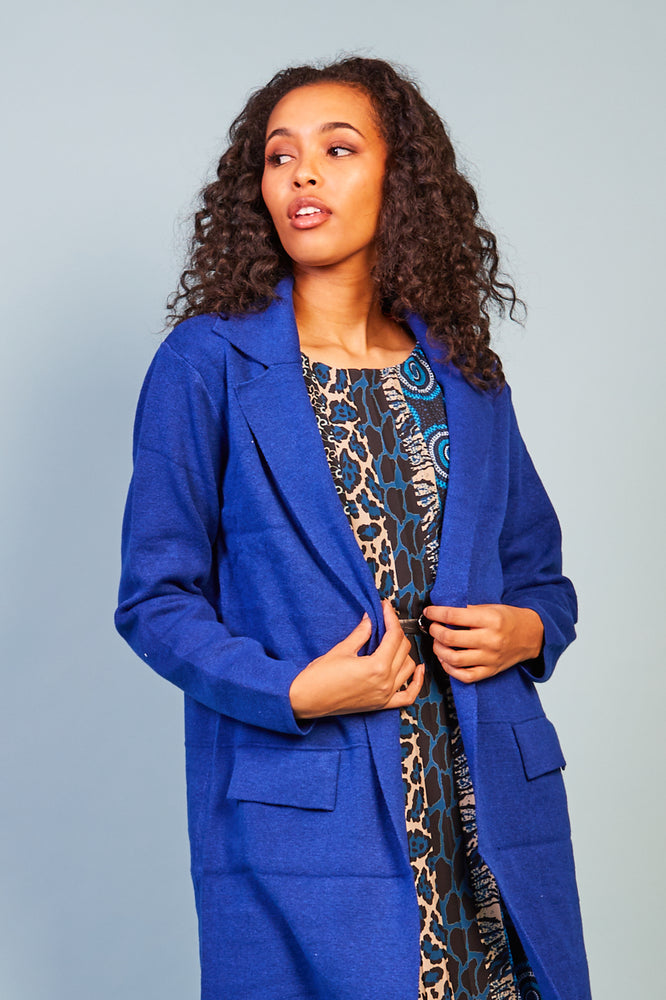Mimi Royal Coat Cardigan