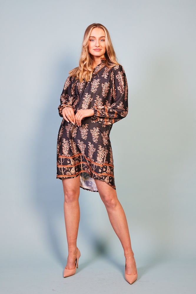 Aurora Printed Dress