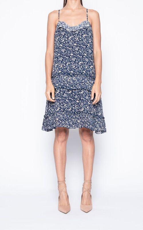 Jessica Layered Floral Dress