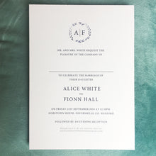 Alice in Soft Cream with Pearl Lustre Envelope