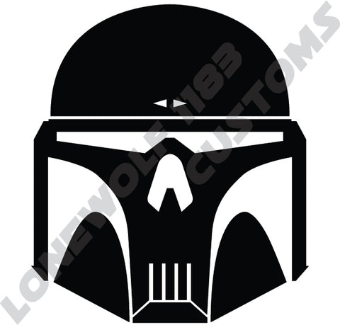 Mandalorian Executioner Die Cut Vinyl Decal