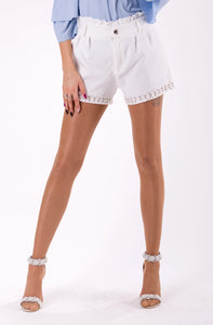 SHORTS - WHITE - Regis&GG