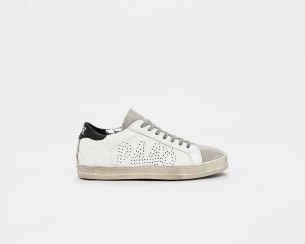 Women's John in White/Black