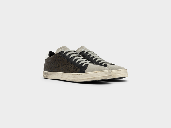 Men's P448 John Low-Top Sneaker in Army Grif
