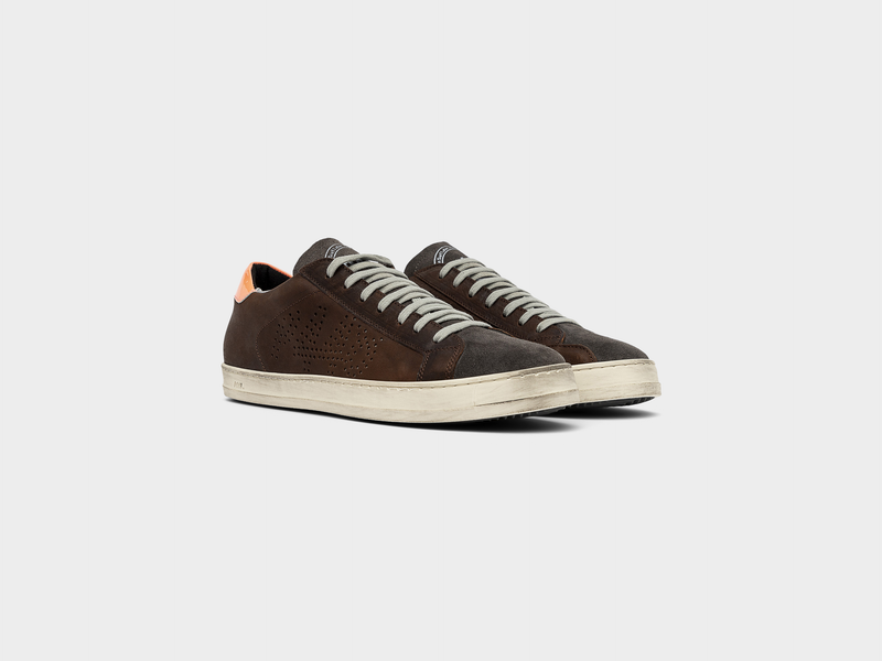 Men's P448 John Low-Top Sneaker in Brown
