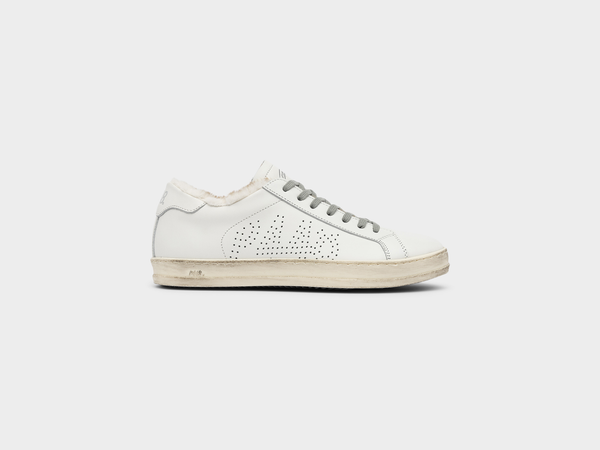 Women's P448 JohnFur Low-Top Sneaker in White