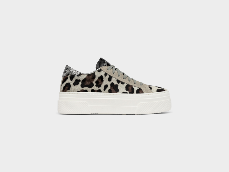Women's P448 JohnPlatform Low-Top Sneaker in Cow