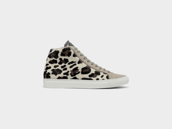 Women's P448 Star2.0 High-Top Sneaker in Cow
