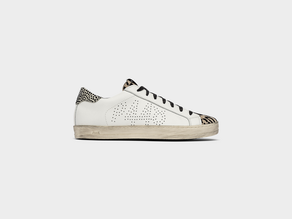 Women's John in Whi/LeoFlo