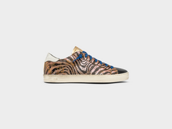 Women's John in Bronze Zebra Black Lace